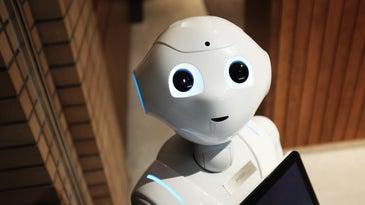 Pepper the social robot.