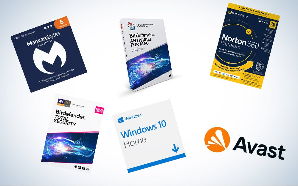 These are our picks for the best antivirus software on Amazon.