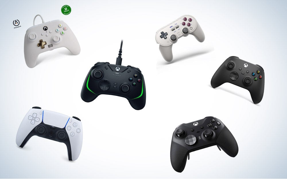 These are our picks for the best controllers for PC on Amazon.