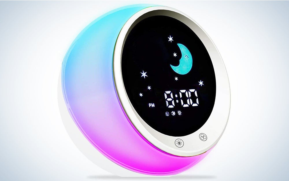 ICode kids is our pick for best alarm clock.