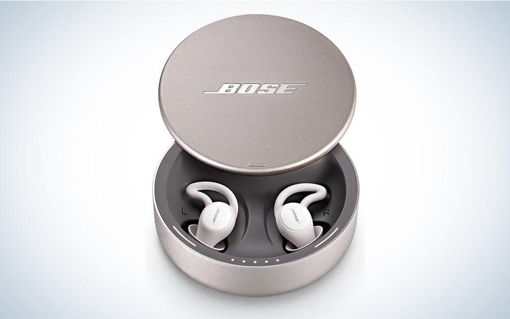 Bose SleepBuds are the best headphones for sleeping.