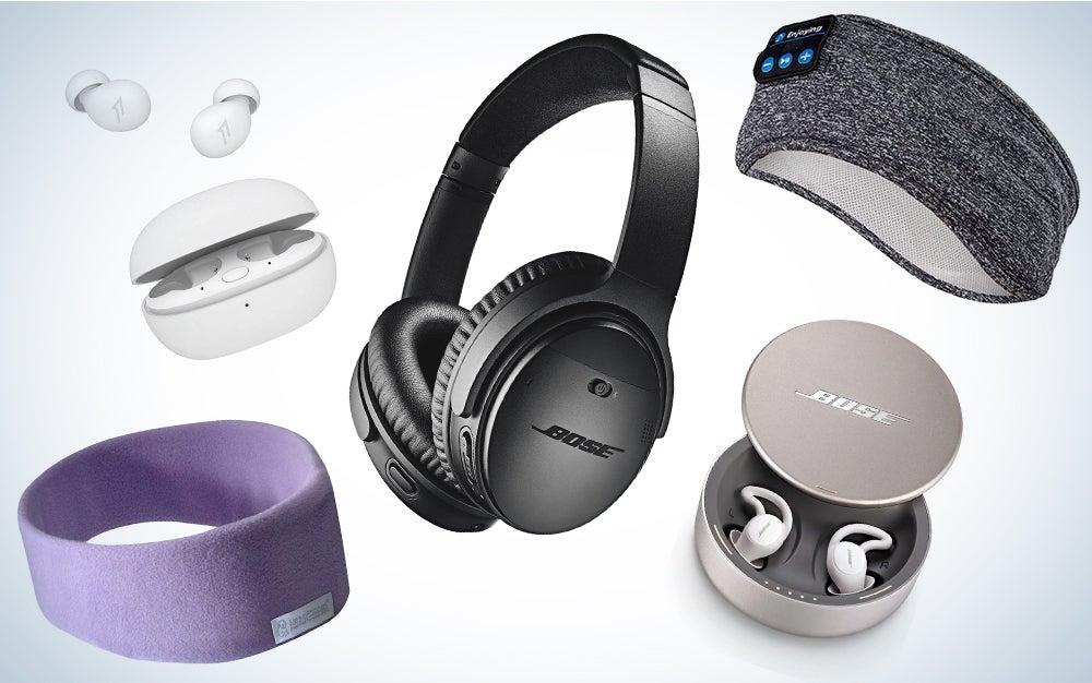 Headphones for sleep composite feature image