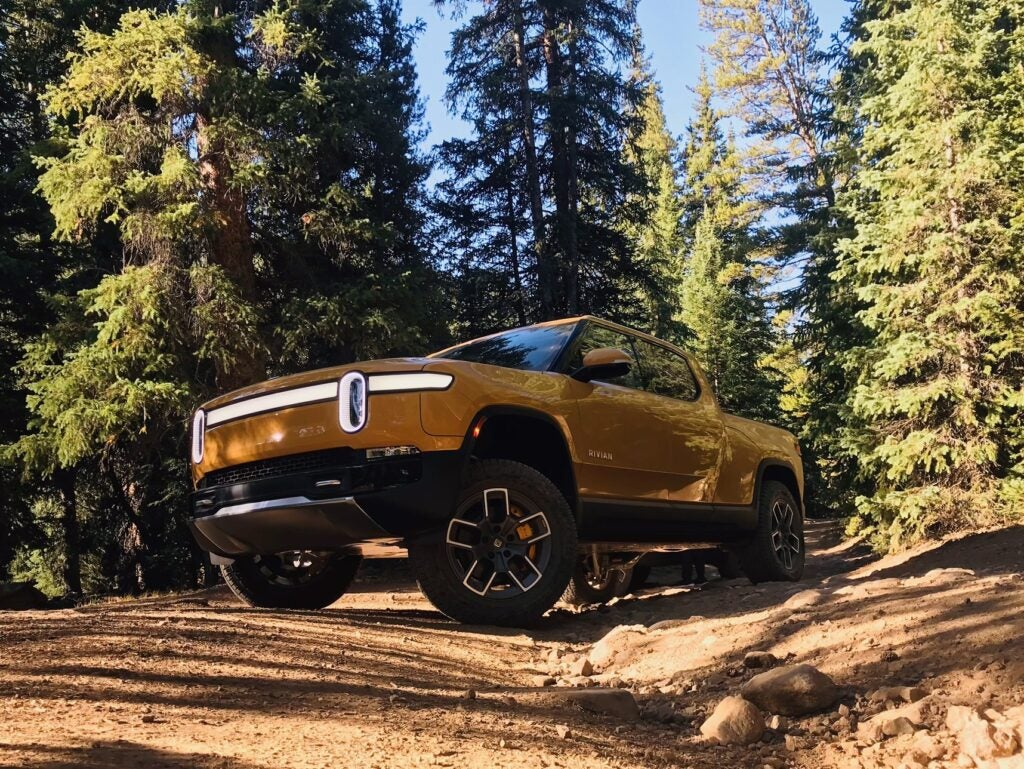 The Rivian R1T breaks the electric-pickup game wide open