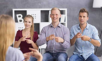 Save over $200 on this expert-led training on American Sign Language
