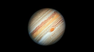 A photo of the planet Jupiter.