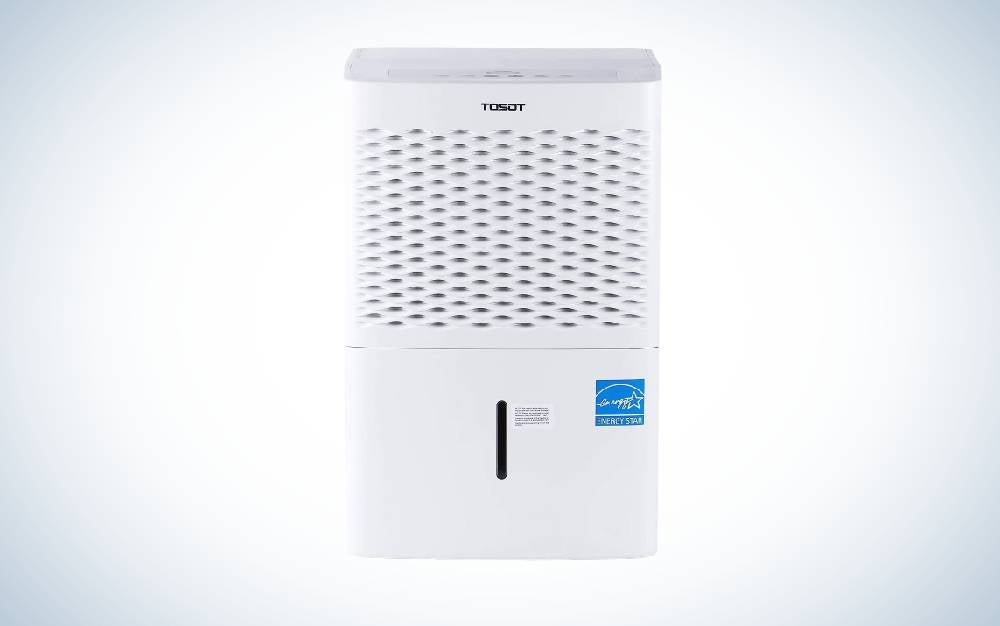 The TOSOT 50 Pint with Internal Pump is Best quiet dehumidifier