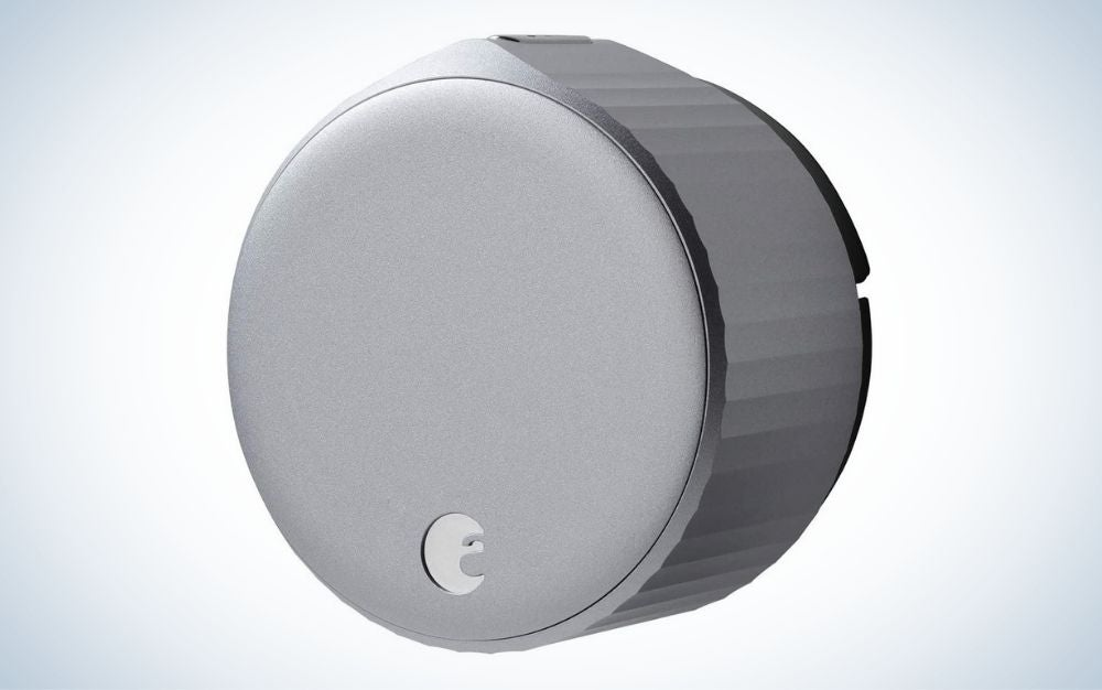 August Wi-Fi Smart Lock is the best without a keypad.