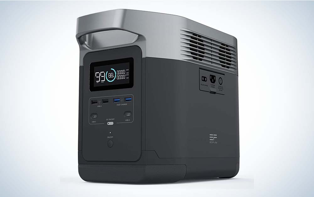 EF Ecoflow Portable Power Station Delta 1260Wh is the best portable power station.