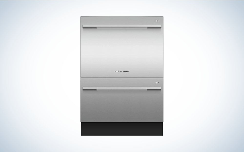 The Fisher Paykel 24-Inch Built-In Fully Integrated Dishwasher is the best dishwasher.