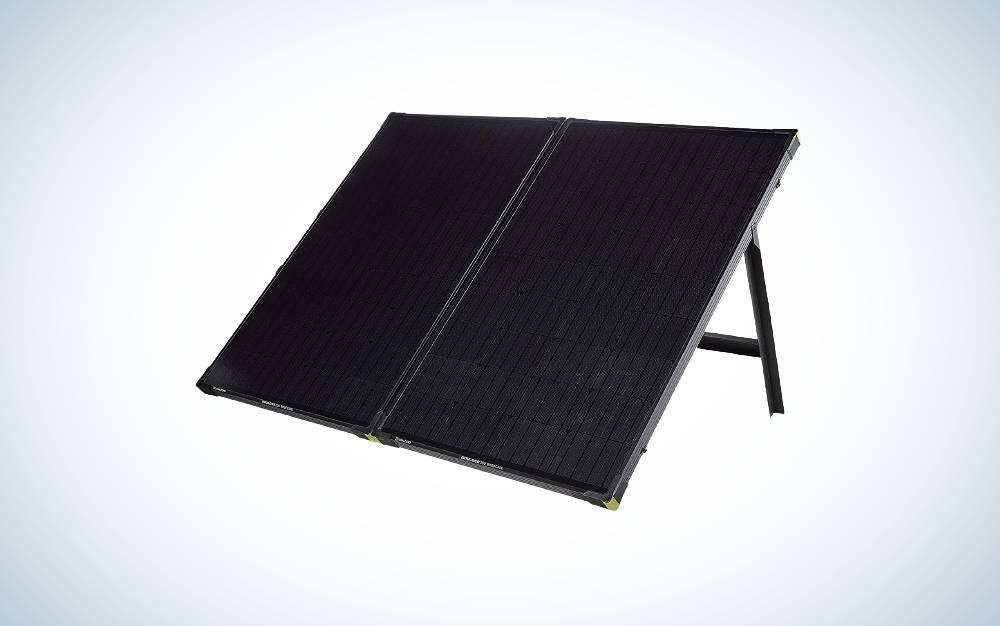 The Goal Zero Boulder 200 Watt Briefcase are the best solar panels