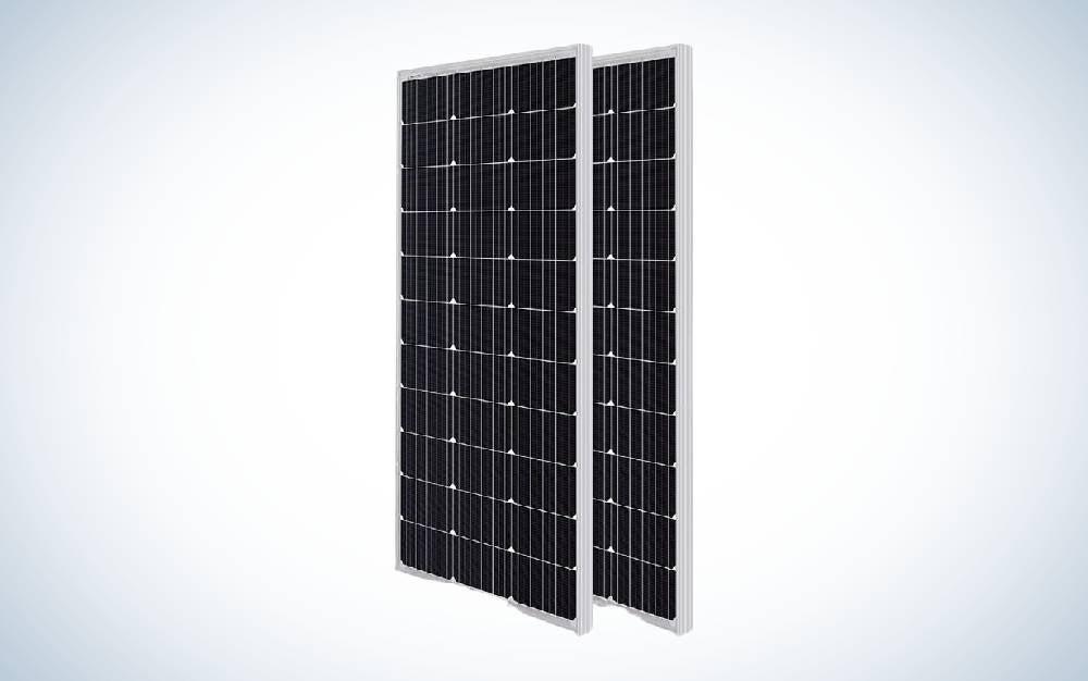 The HQST Solar Panel 2pcs 100 Watt are the best solar panels