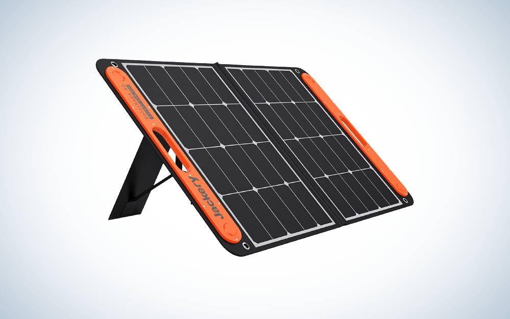 The Jackery SolarSaga 60W are the best solar panels.