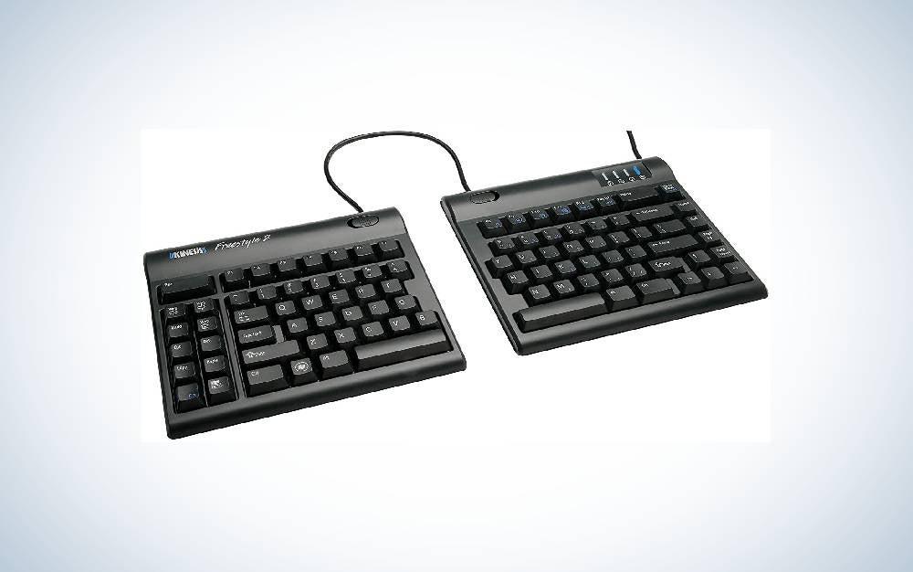 KINESIS Freestyle2 Ergonomic Keyboard for PC is the best ergonomic keyboard