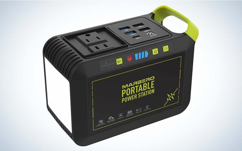 Marbero Portable Power Station 80W 88Wh is the best portable power station