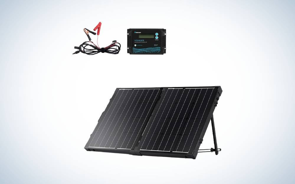 The Renogy 200 Watt Monocrystalline are Best Solar Panels for RV
