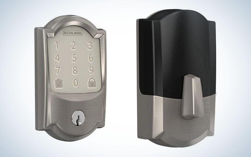 Schlage Encode Deadbolt Smart Lock is the best Wi-Fi keypad door lock.