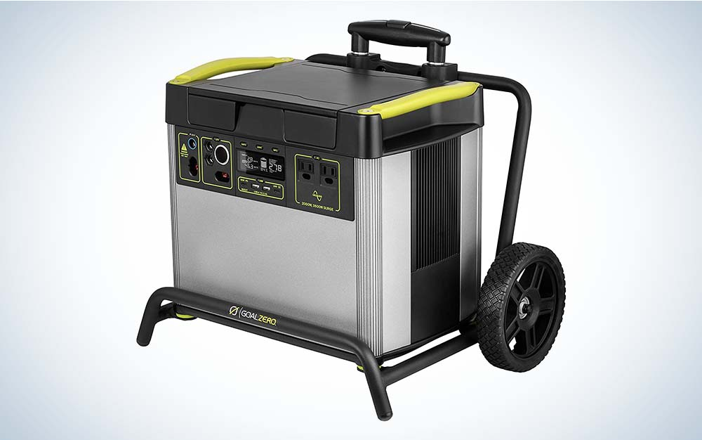 Yeti 3000X Portable Power Station, 2982Wh is the best portable power station for home.