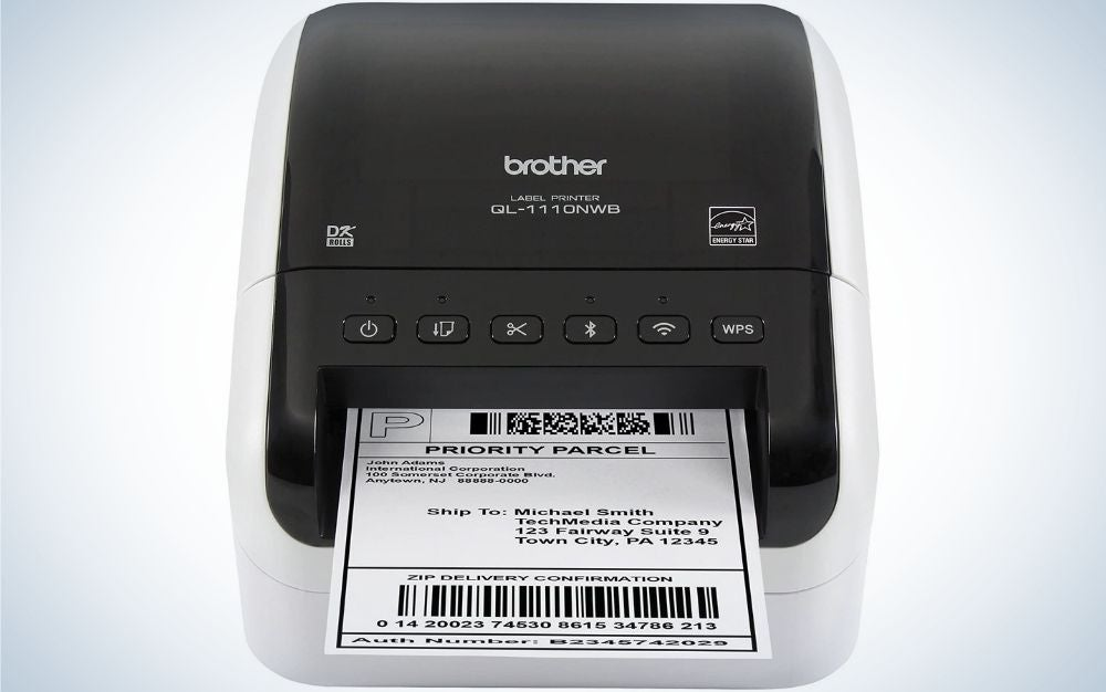 Brother QL-1110NWB is our pick for the best label maker.