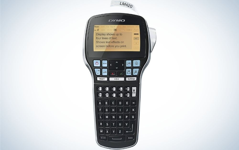 DYMO is our pick for the best label maker.