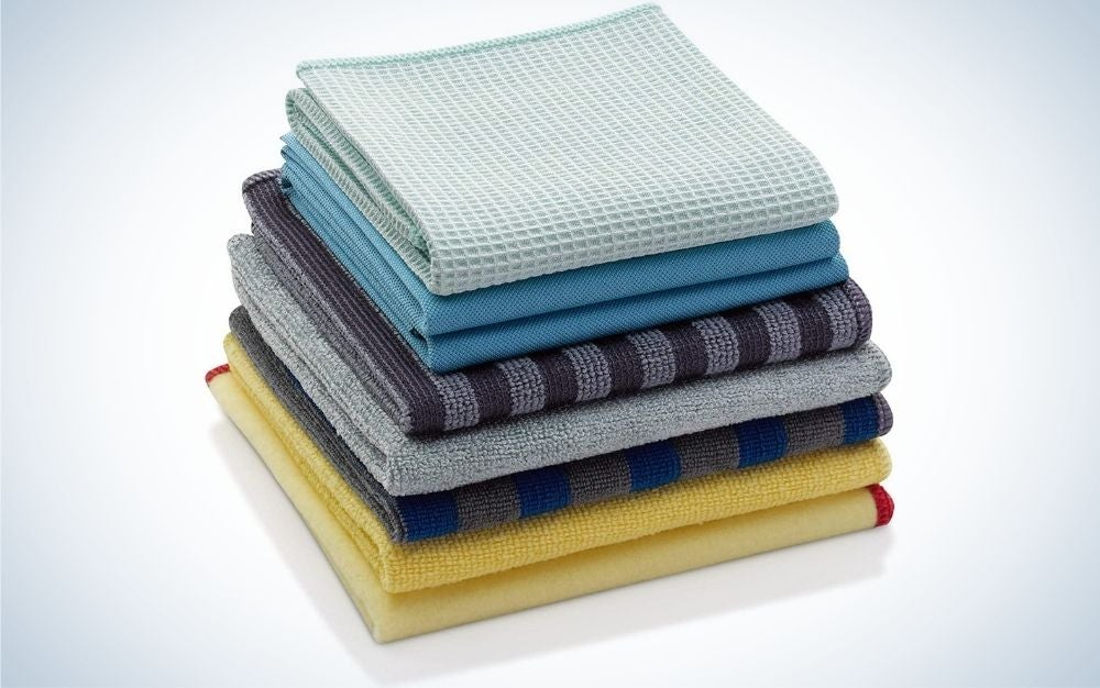 This set from E-Cloth is our pick for the best microfiber cleaning cloths.