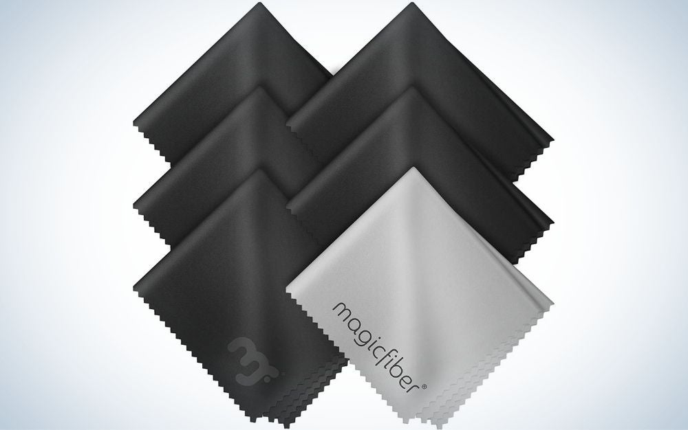 This set from Magic Fiber is our pick for the best microfiber cleaning cloths.