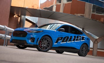The Michigan State Police tested the electric Ford Mustang Mach-E, and loved it
