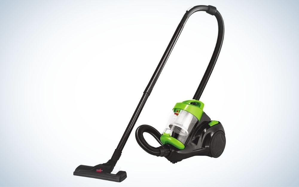 The Bissell Zing Bagless Canister Vacuum is the best bagless canister vacuum.