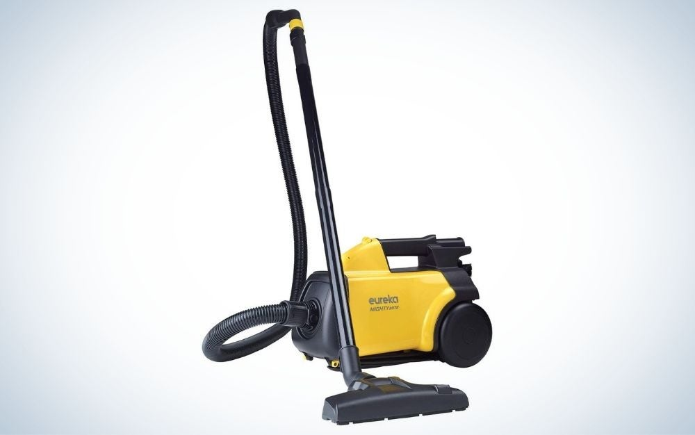 The Eureka 3670G Mighty Mite is the best compact canister vacuum.