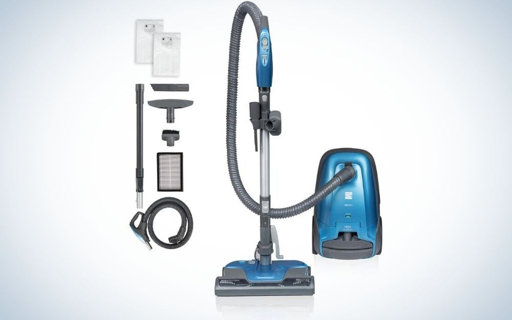 The Kenmore 400 Series Canister Vacuum is the best canister vacuum for multiple pets.