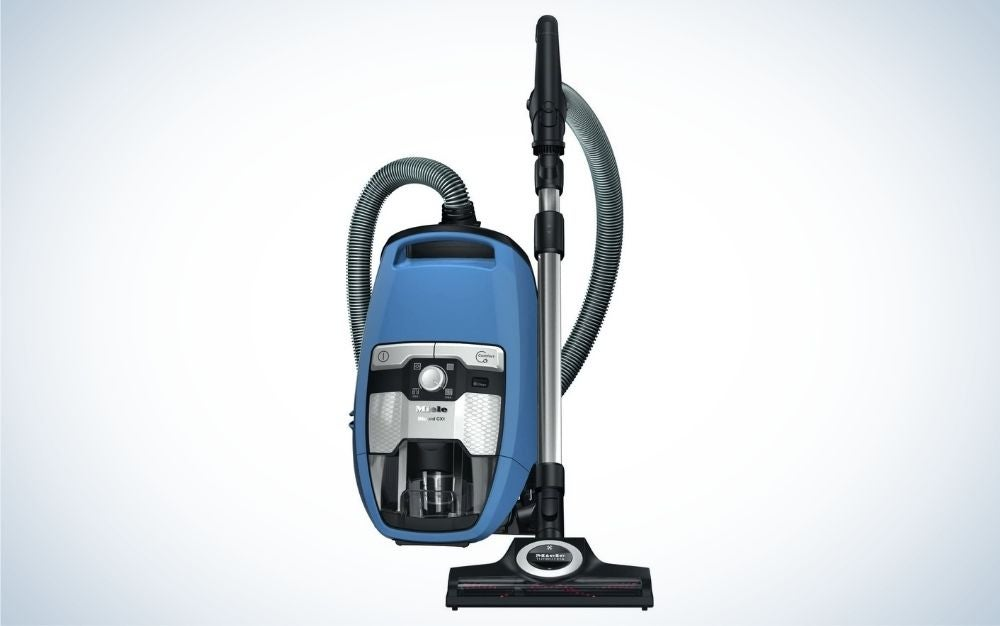The Miele Blizzard CX1 Turbo Team is the best overall canister vacuum.