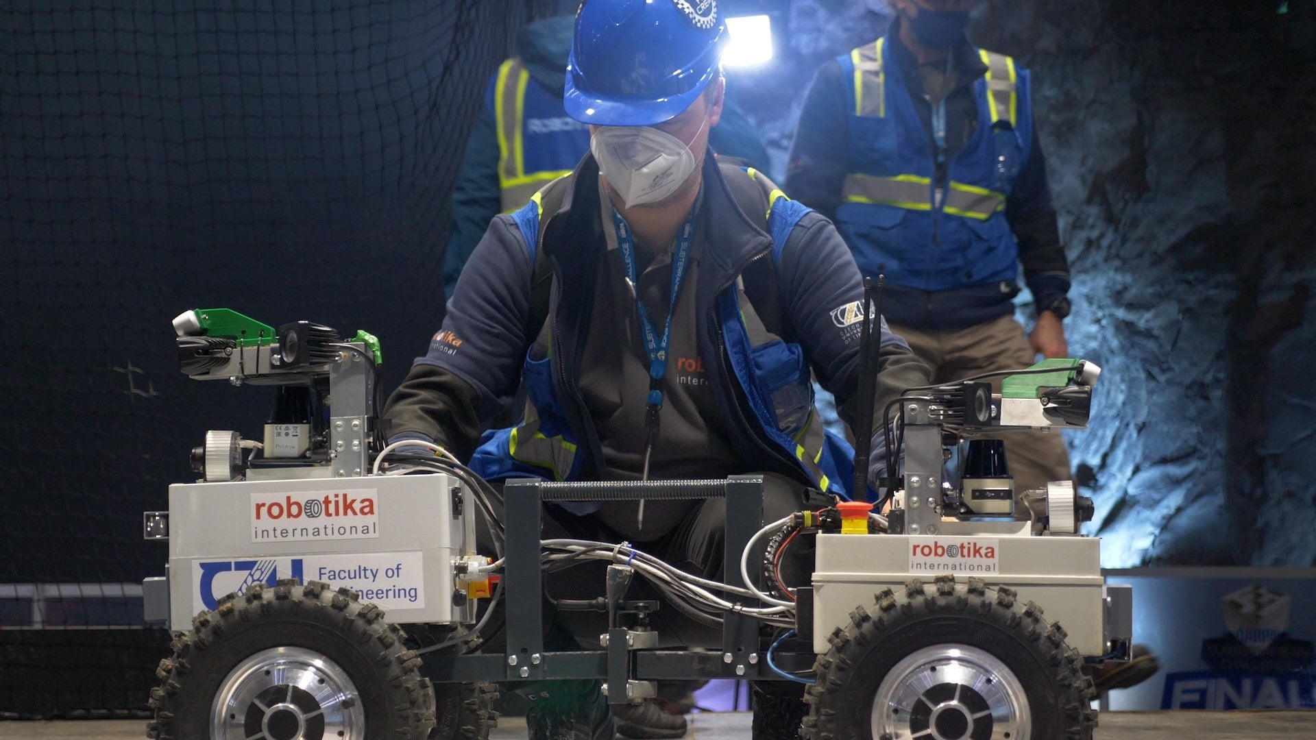 These robots are DARPA's hope for the way forward for cave warfare—or catastrophe aid thumbnail