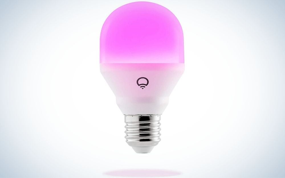 LIFX Mini is the best smart light with no hub.