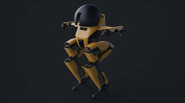 Leo the Caltech robot