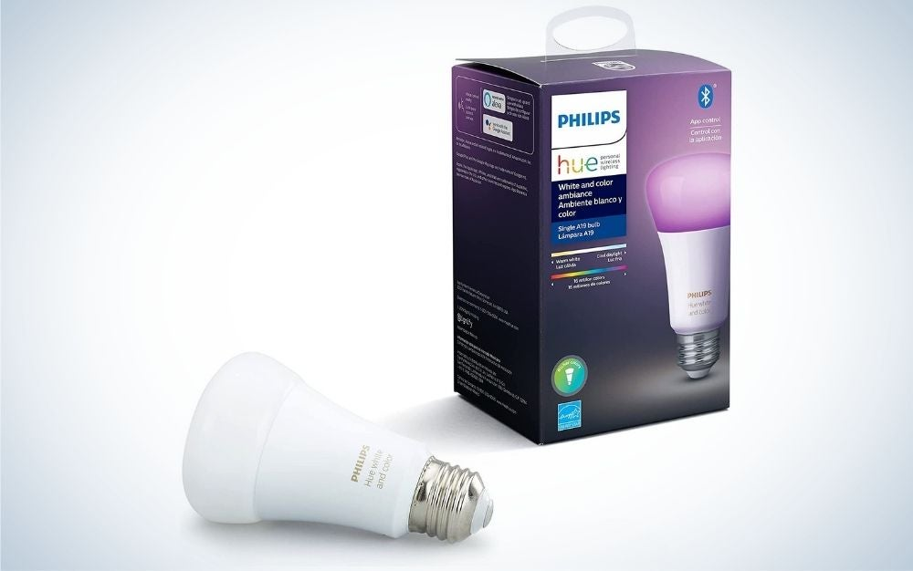 Philips Hue is the best smart light overall.