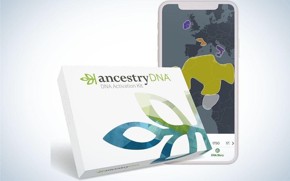 AncestryDNA is the best DNA test kit for ethnicity.