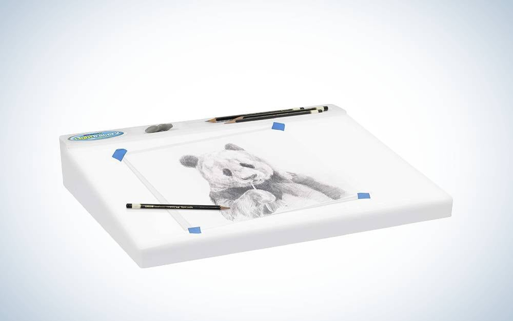 The Artograph LightTracer 2 LED Light Box is the best light box for slide viewing.