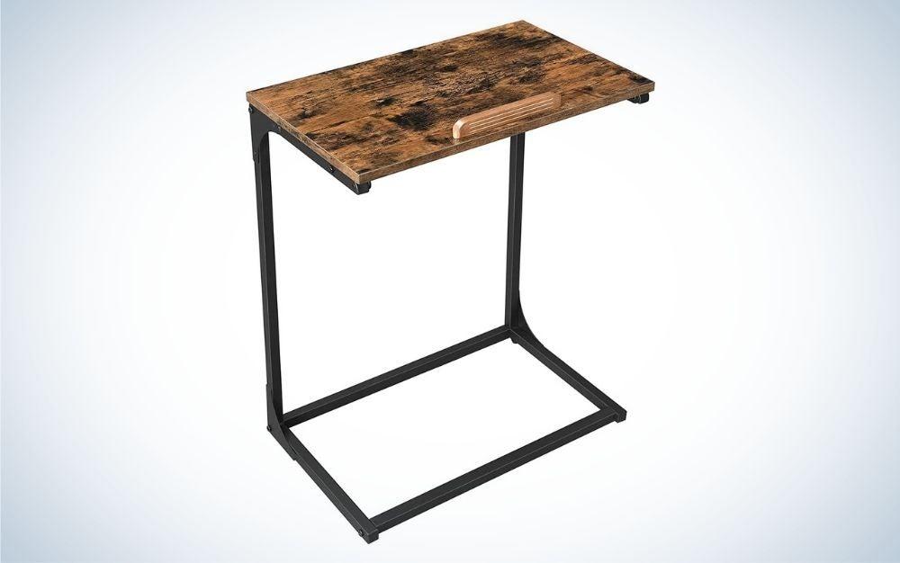 The VASAGLE Laptop Side Tables is the best laptop desk for value.