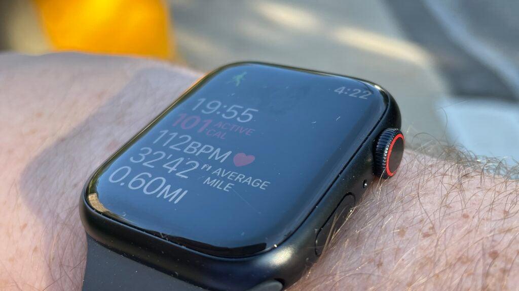 Apple Watch 7 fitness tracker