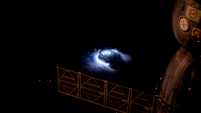 Here's what caused the mysterious blue glow spotted from the ISS