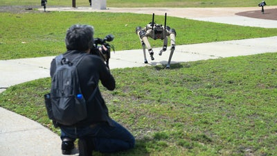 Ghost Robotics now makes a lethal robot dog