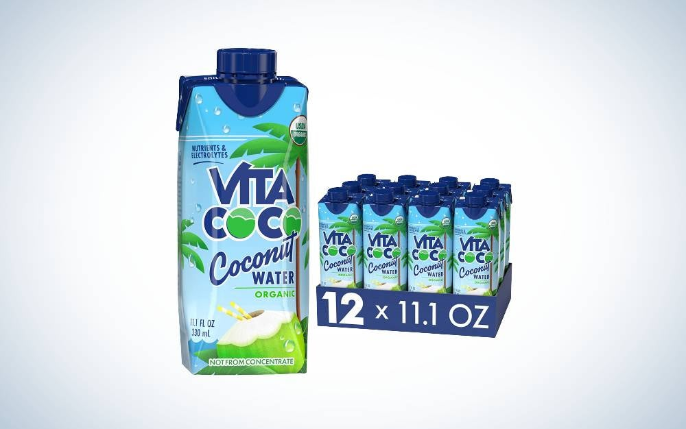 The Vita Coco is the best electrolyte drink for breastfeeding mothers.