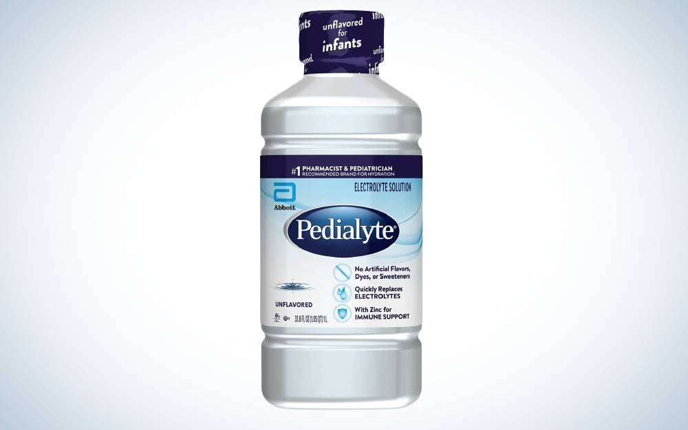 The Pedialyte is best electrolyte drink for hangovers.