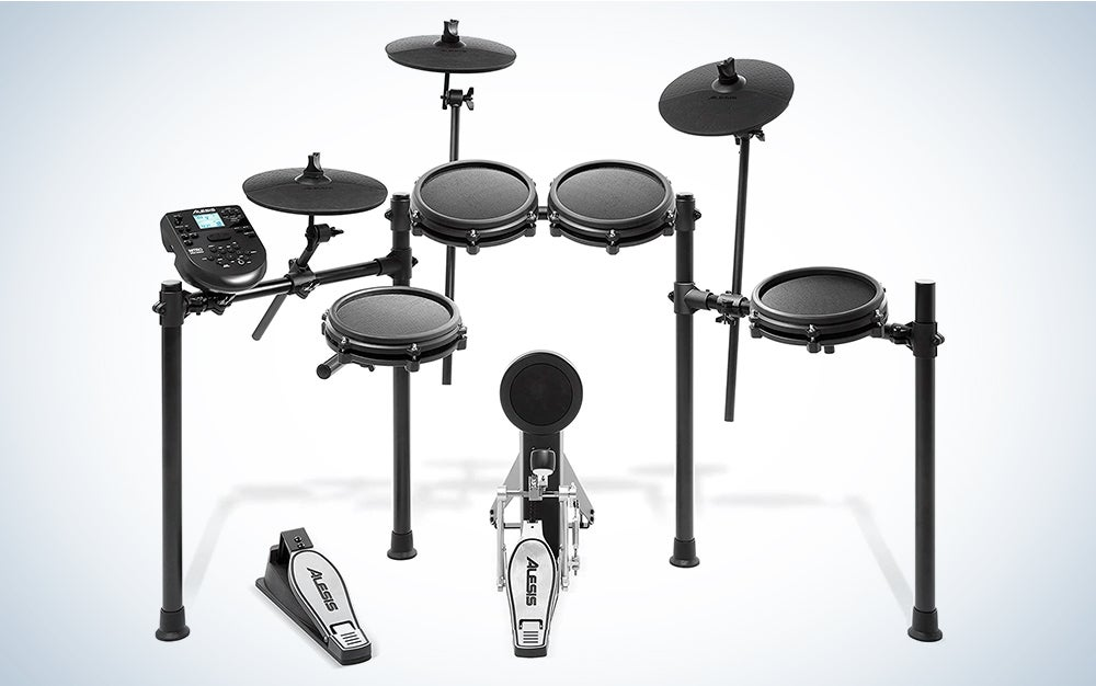 Alesis Drums Nitro Mesh Kit is our pick for the best electronic drum set.