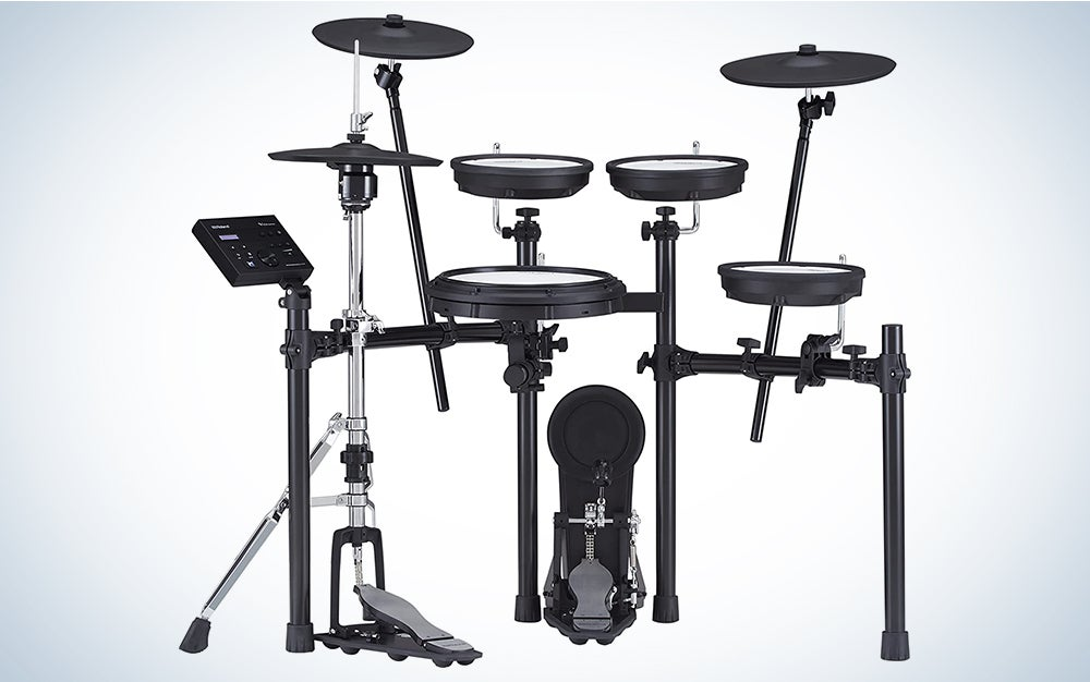 Roland TD-07DMK is our pick for the best electronic drum set.
