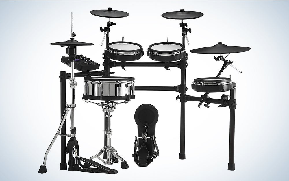 Roland TD-27KV is our pick for the best electronic drum set.