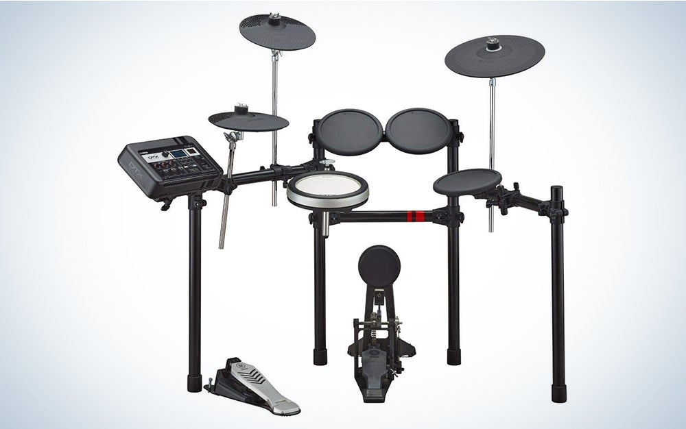 Yamaha DTX6K-X is our pick for best electronic drum set.