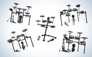 Quietly get your kicks with the best electronic drum sets