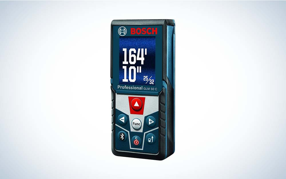 The BOSCH Blaze GLM 50-C Laser Tape Measure is the best overall.