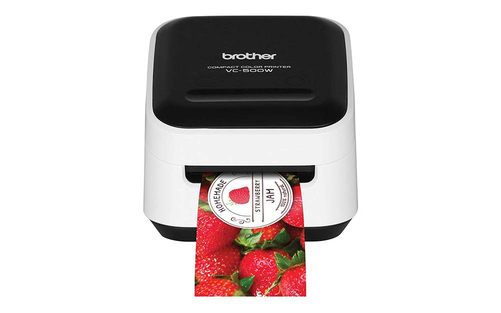 The Brother VC Compact Labels and Color Printer is the best label printer.