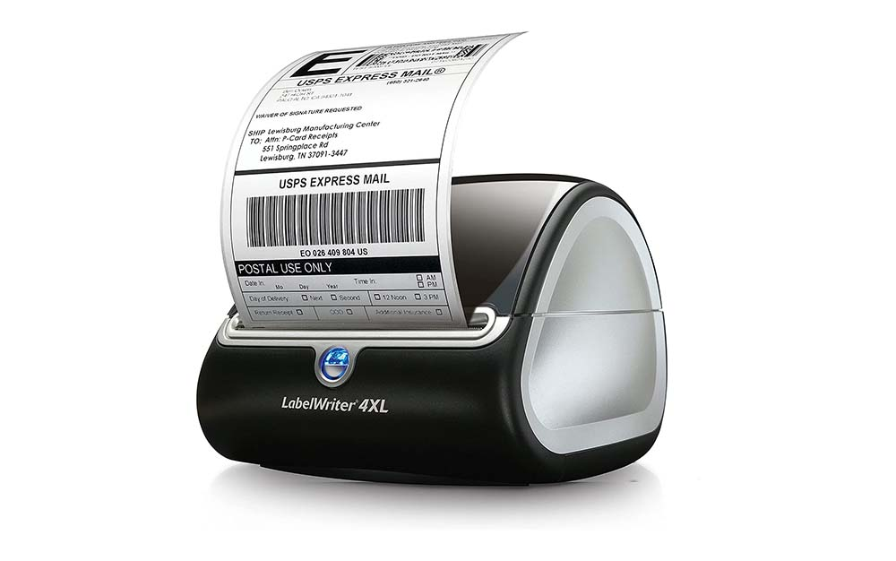 The Dymo XL is the best label printer for small business.